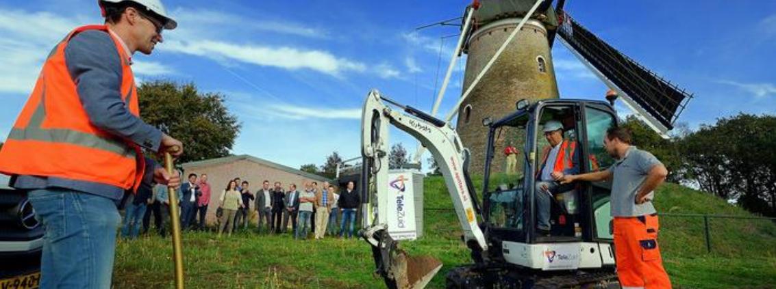 Layer23 broadens the Rucphen countryside withRegio-Glasvezel fiber through Colt Data Centre Services